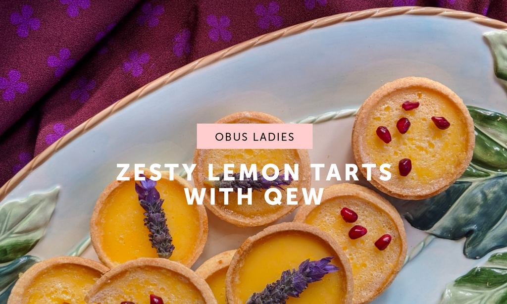 Zesty Lemon Tarts for Fathers Day with Qew