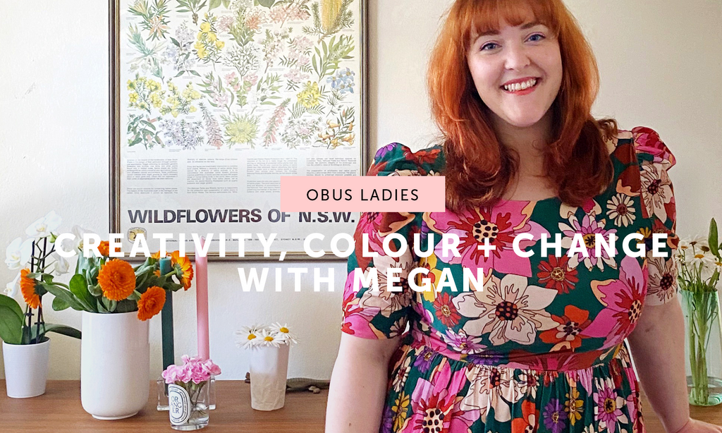 Creativity, Colour and Change with Megan