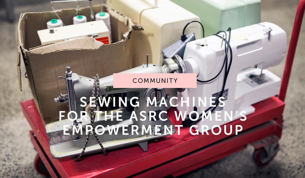COMMUNITY: Sewing machines for the Women's Empowerment Group