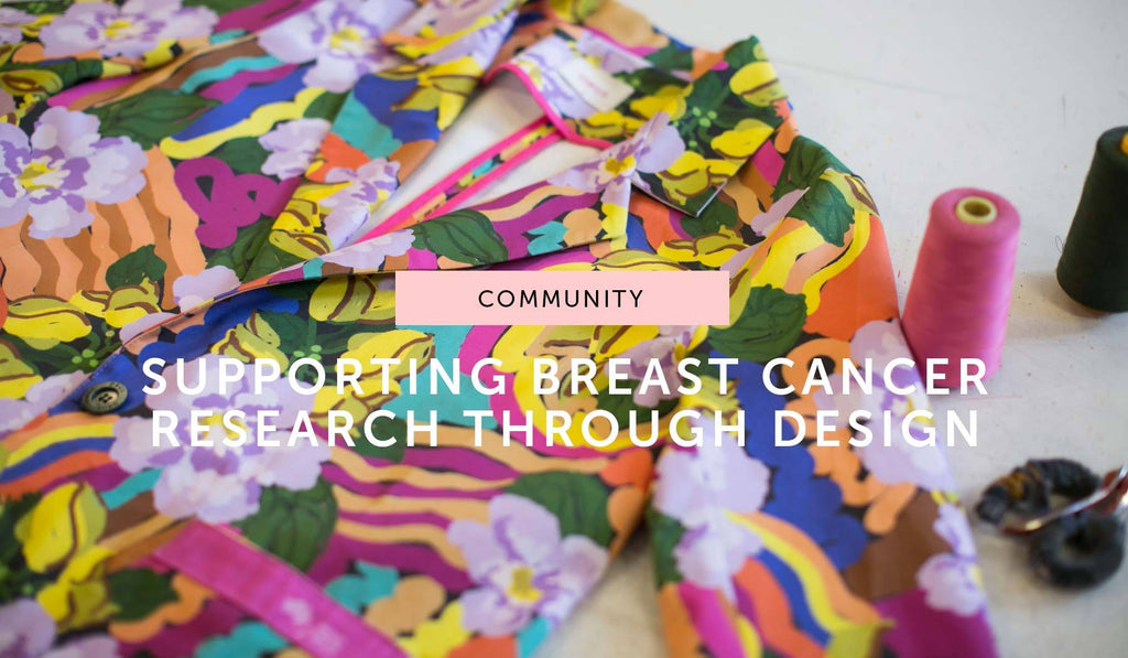 COMMUNITY: Obus redesigns the lab coat in support of breast cancer research