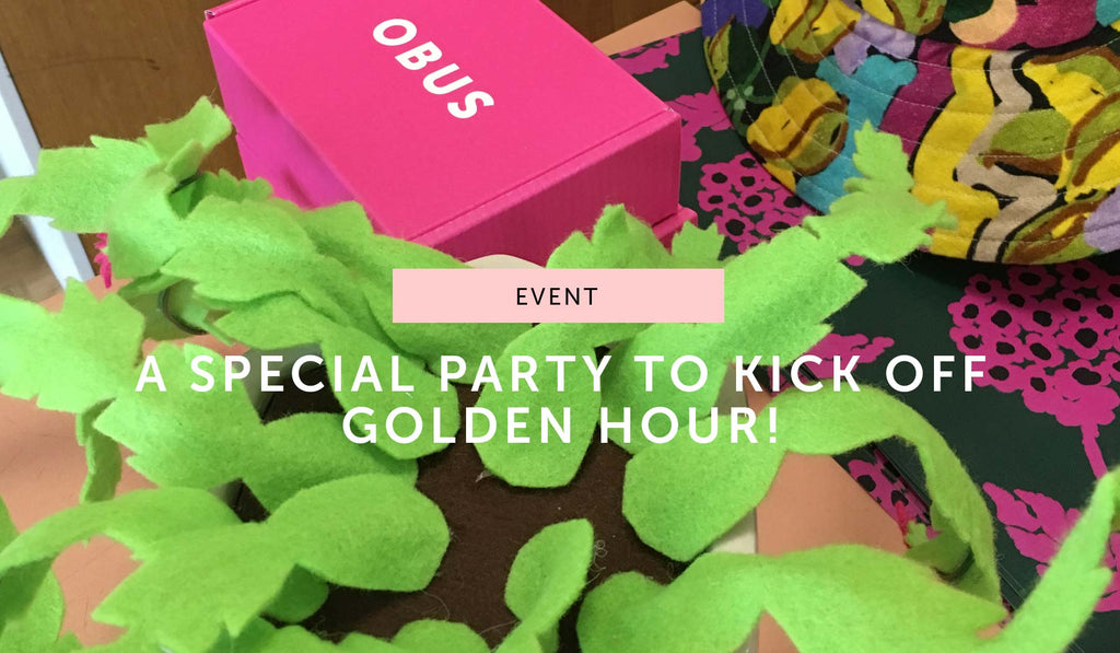 EVENT: Golden Hour collection launch wrap-up!