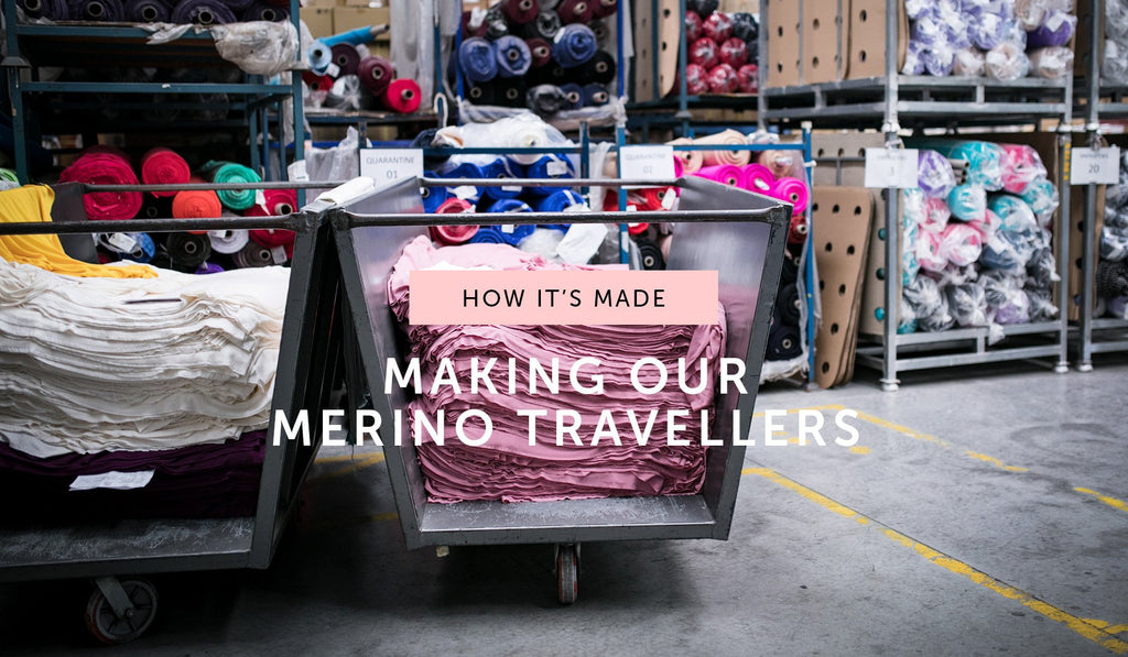 HOW IT'S MADE: Dyeing and milling our Merino Travellers