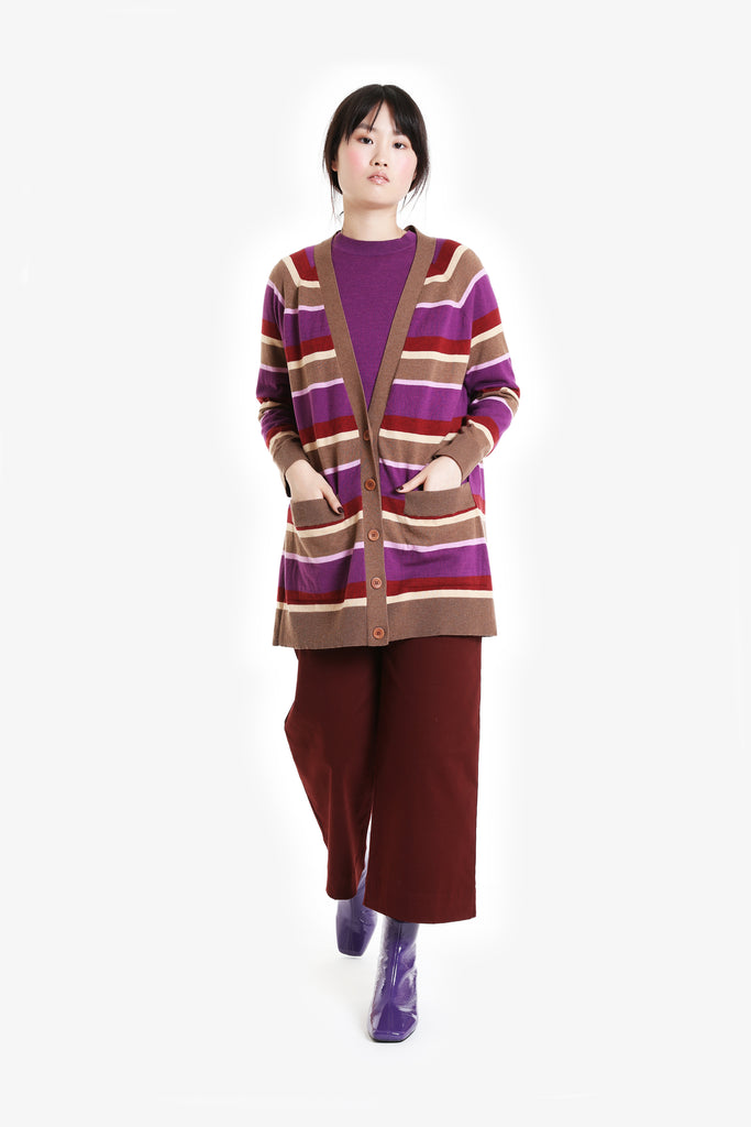 Traveller Knit Long Cardigan A/W20