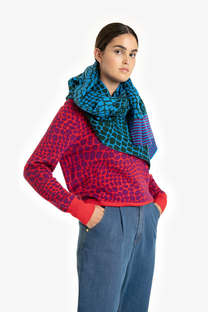 Crocodile Tears Scarf