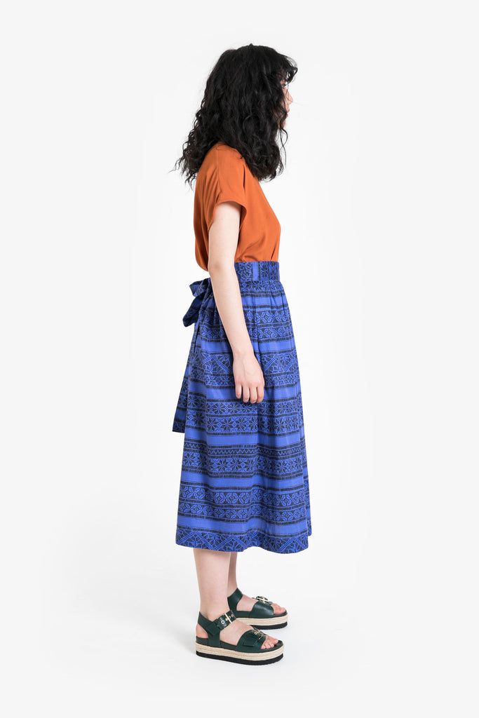 Blue Moon Wrap Skirt