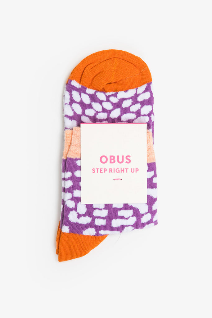 Obus crazy pattern cotton sock