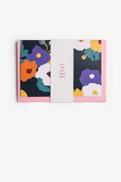 Obus Greeting Card 4 Pack