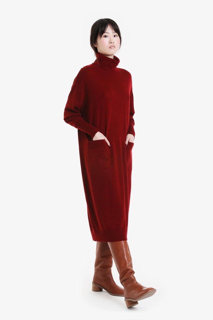 Traveller Turtleneck Dress A/W20