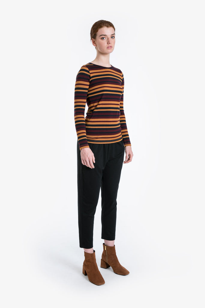 Merino Traveller Crew Neck Top W/19