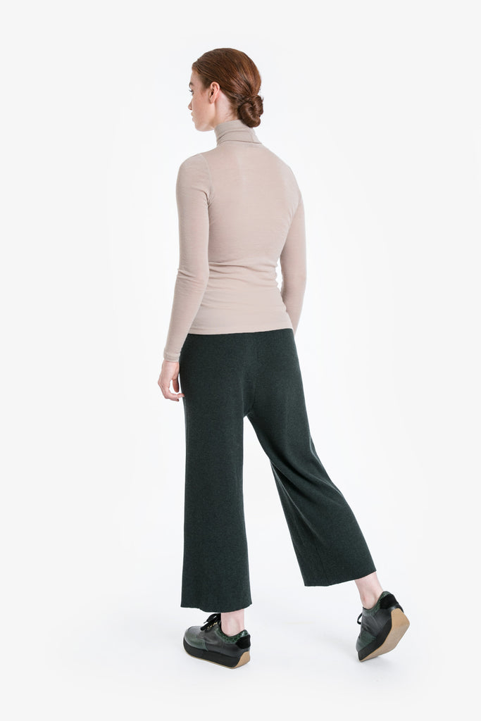 Merino Traveller Turtleneck Top W/19