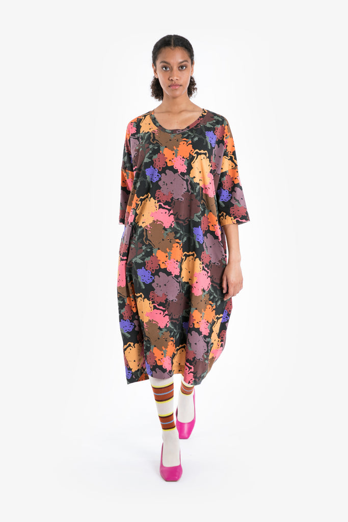 Night Bloom Oversize Dress