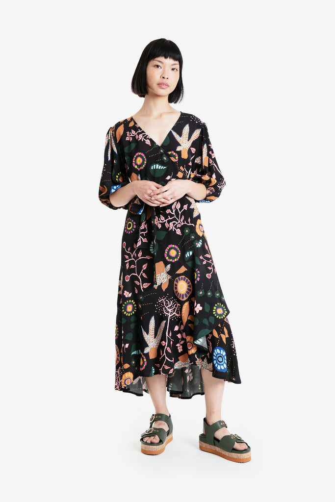 Tullu Wrap Dress