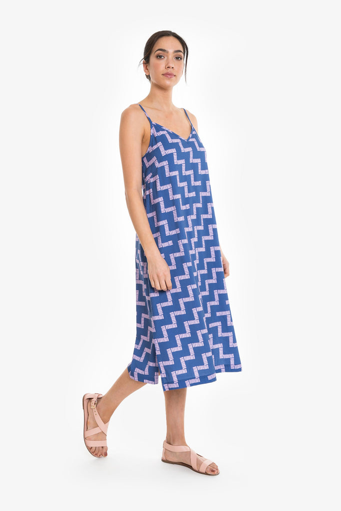 Stay The Course Slip Dress