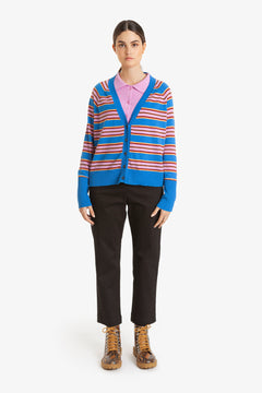 Obus Traveller Knit Striped Cardigan S/S20