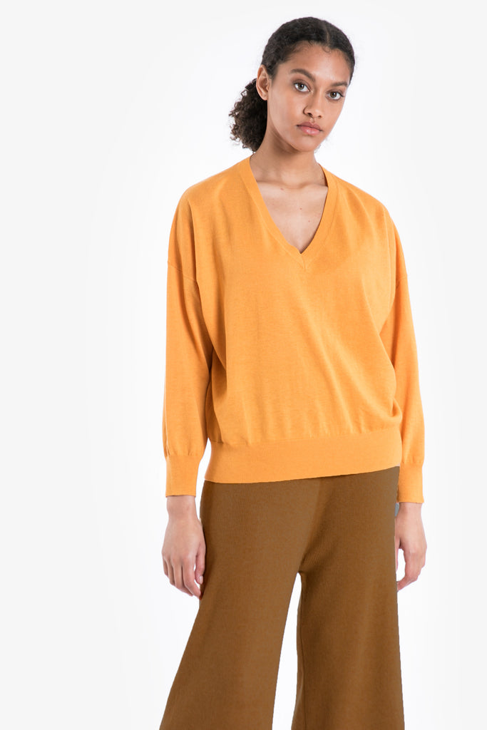 Traveller Knit V-Neck Pullover