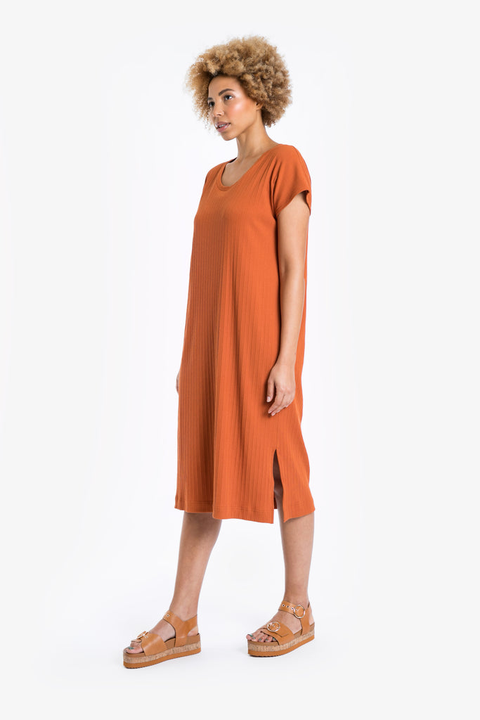 Traveller Rib Midi Dress SS/19