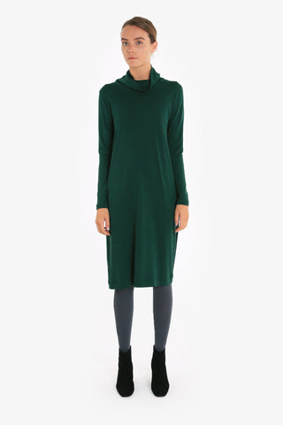 Merino Traveller Turtleneck Dress W/17