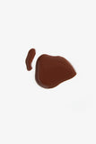 Obus vegan five free formula nail polish chocolate brown colour blob