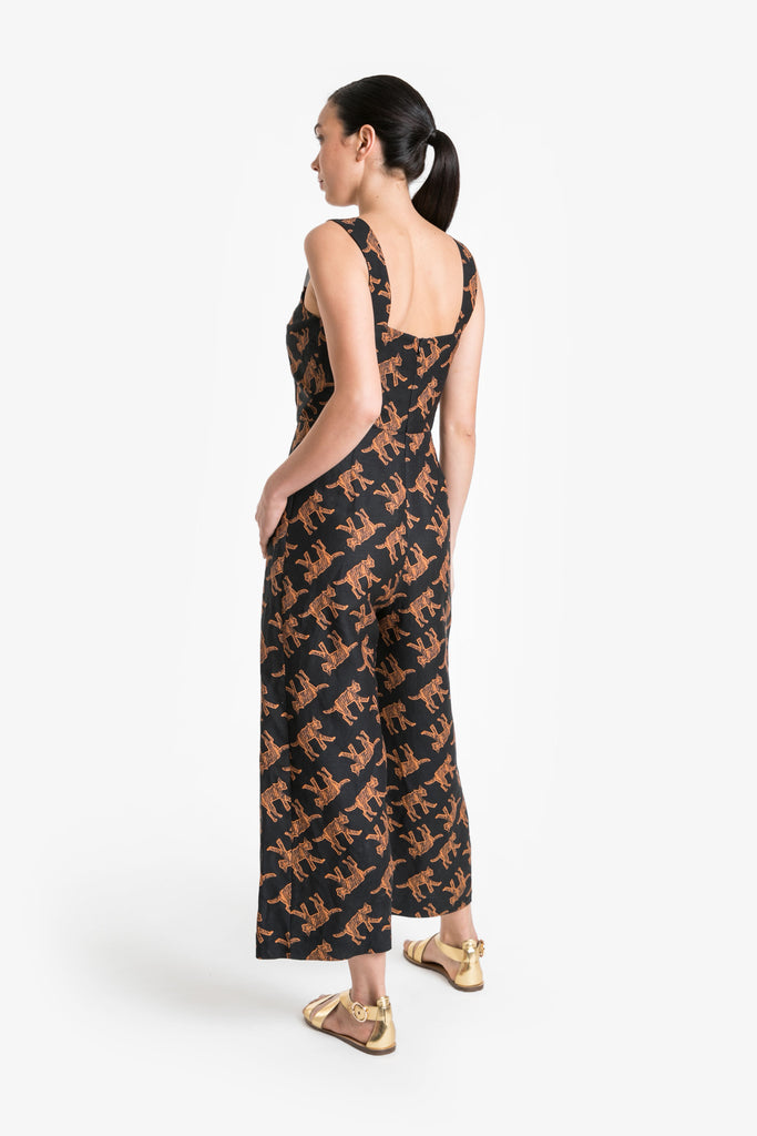 Wild Cat Jumpsuit