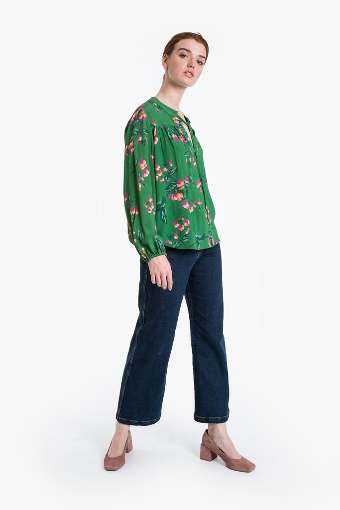 Winter Garden Blouse