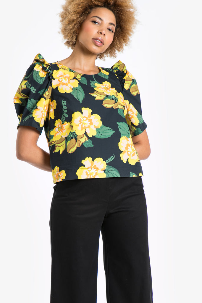 Yellow Bells Blouse