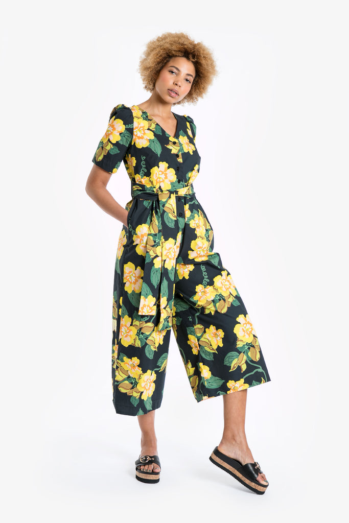 Yellow Bells Jumpsuit