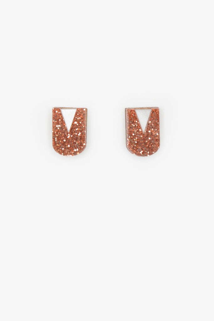 Ovazania Mini Stud - Bronze