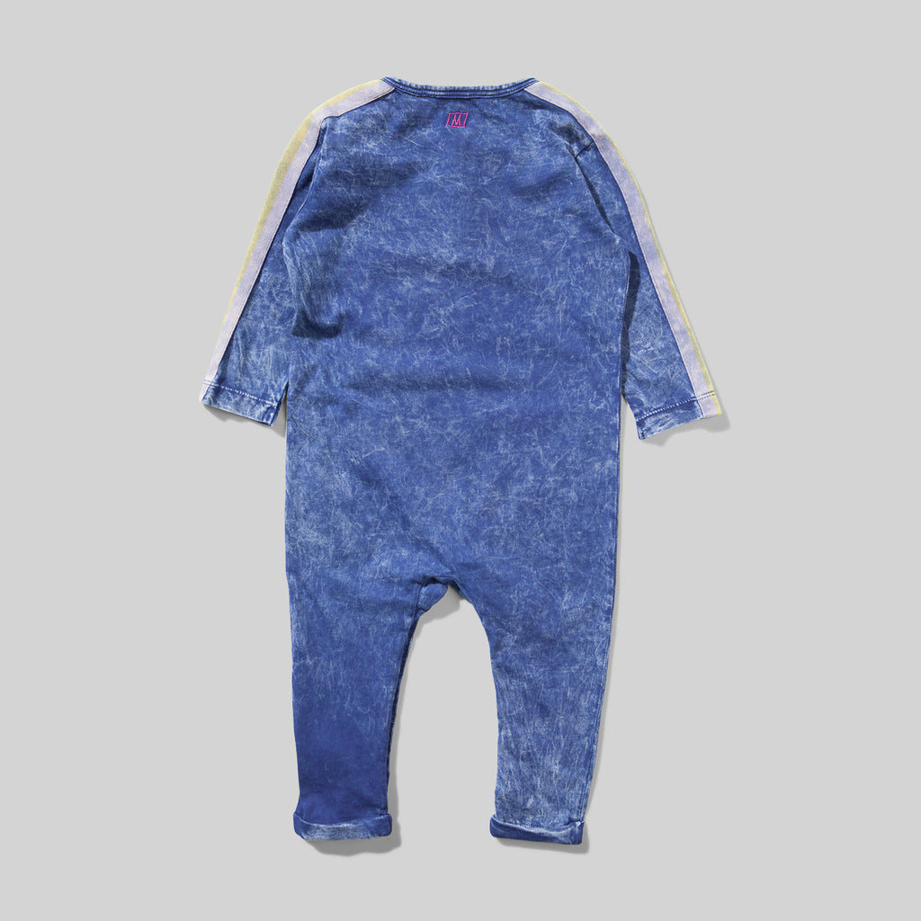 CALLIE JUMPSUIT WASHED DENIM
