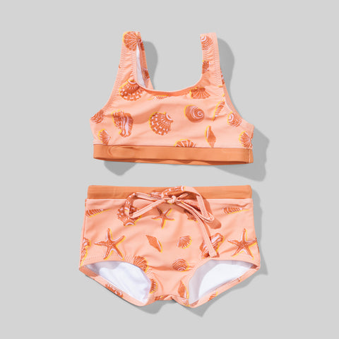 CABARITA BIKINI ORANGE SHELLS