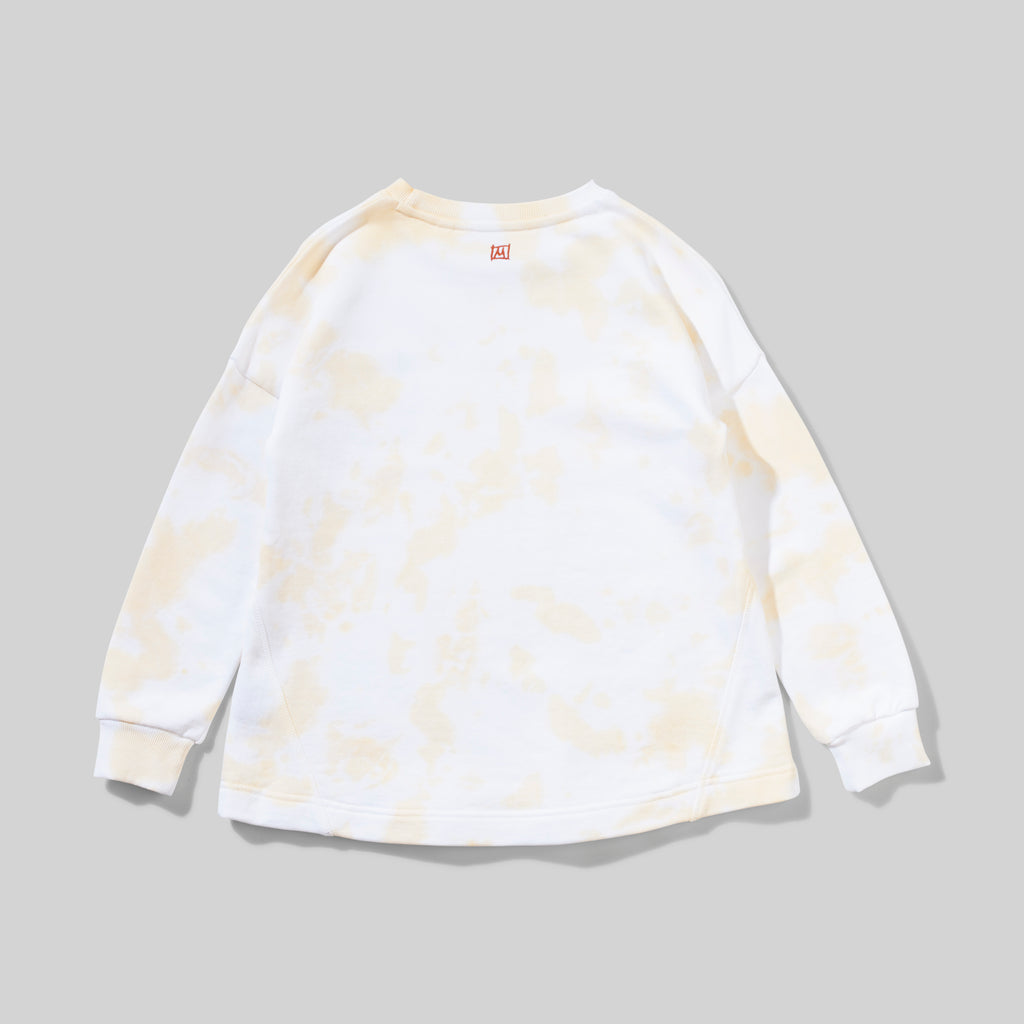 LAGUNA FLEECE LEMON TIE DYE