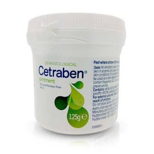 Cetraben Ointment 125g | Skin Care | Diabetic Supply