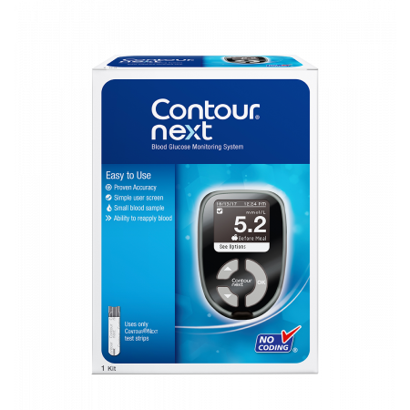 Contour Next Blood Glucose Monitoring System | Diabetic Supply
