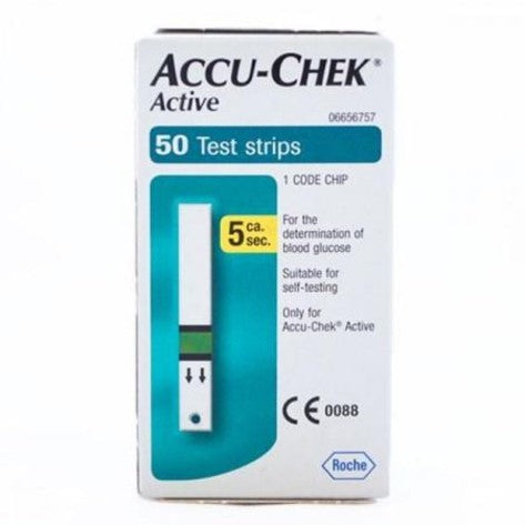 Accu-Chek Active Blood Glucose Test Strips | Diabetic Supply