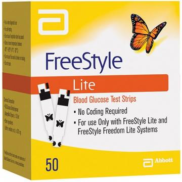 Freestyle Lite Blood Glucose Test Strips | Diabetic Supply