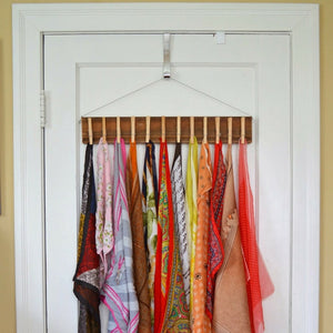 Alternatives to burying your scarves at the bottom of the wardrobe