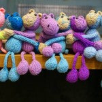 Cambodia Knits Magnet Toys