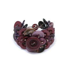 Recycled Button Bracelet Bracelets Khmer Creations Jewellery - Penh Lane