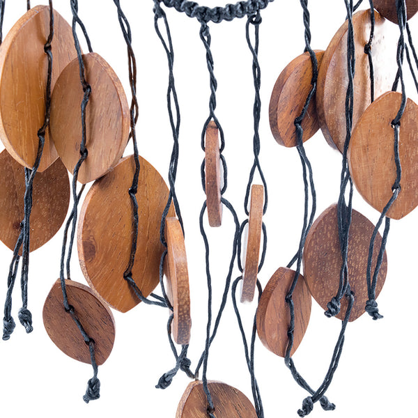 DeVine Recycled Timber Necklace Necklaces Khmer Creations