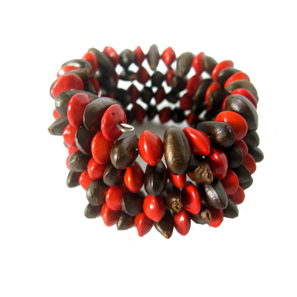 Diup and Love Seed Wrap Bracelets Khmer Creations Jewellery - Penh Lane
