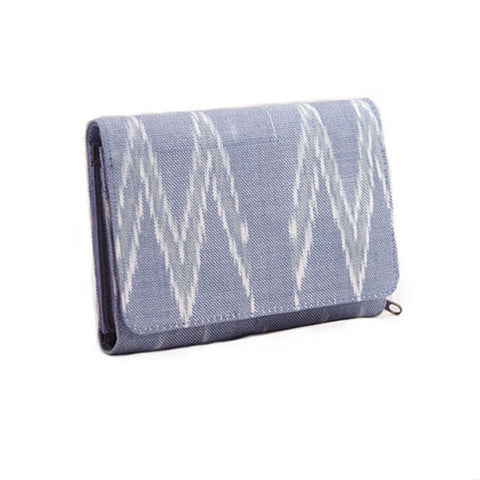 Handwoven Cotton Ikat Wallet