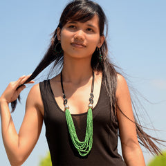 Lotus Necklace Necklaces Khmer Creations Jewellery - Penh Lane
