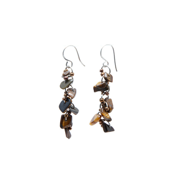 Pebble Drop Earrings Earrings Khmer Creations