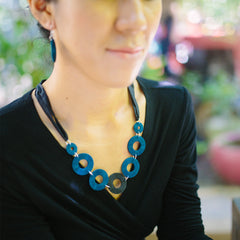 Rags to Riches Necklace Necklaces Khmer Creations Jewellery - Penh Lane