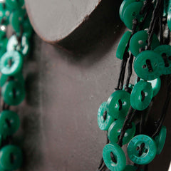 Samnang Button Necklace Necklaces Khmer Creations Jewellery - Penh Lane