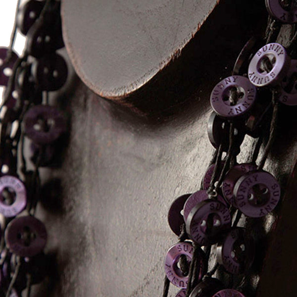 Samnang Button Necklace Necklaces Khmer Creations