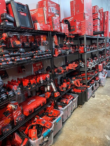 Milwaukee tools for sale in our Charlotte tool store.