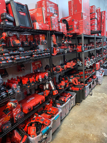 Milwaukee tools liquidation in our store.
