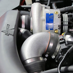 2011-2013 5.0L Mustang GT, V-3 Si Complete System with Air-to-Air Charge Cooler, Satin Finish 4FQ218-020L