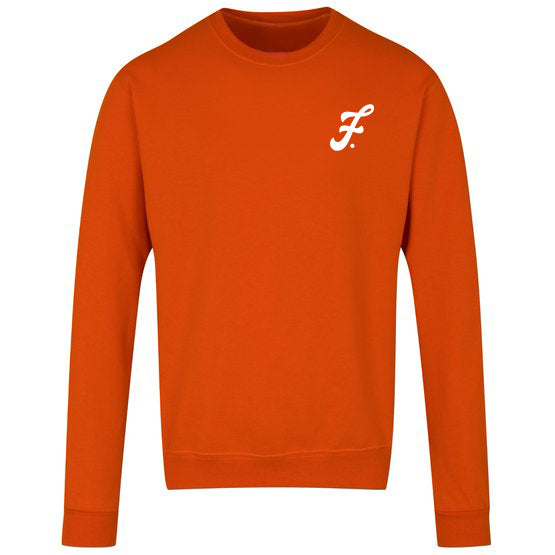 Unisex Crewneck Sweatshirt (Orange)
