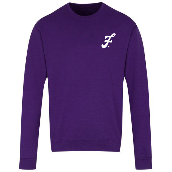 Unisex Crewneck Sweatshirt (Purple)